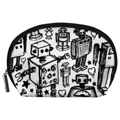Robot Crowd Accessory Pouch (large)