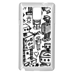 Robot Crowd Samsung Galaxy Note 4 Case (white)