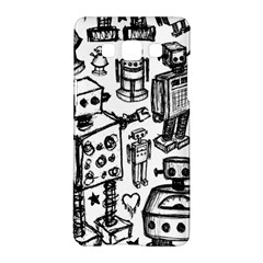 Robot Crowd Samsung Galaxy A5 Hardshell Case