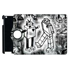 Robot Love Apple iPad 2 Flip 360 Case