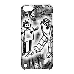 Robot Love Apple Ipod Touch 5 Hardshell Case With Stand