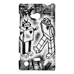 Robot Love Nokia Lumia 720 Hardshell Case