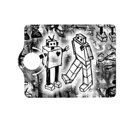 Robot Love Kindle Fire HD (2013) Flip 360 Case