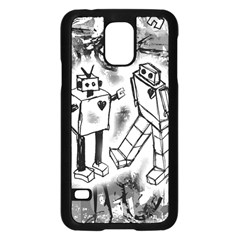 Robot Love Samsung Galaxy S5 Case (Black)