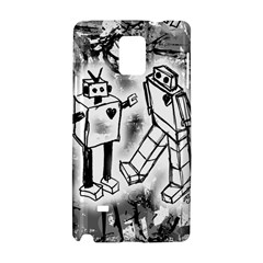 Robot Love Samsung Galaxy Note 4 Hardshell Case
