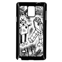 Robot Love Samsung Galaxy Note 4 Case (Black)