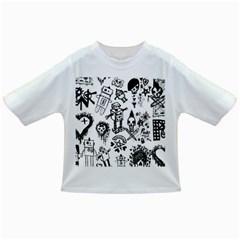 Scene Kid Sketches Baby T-shirt