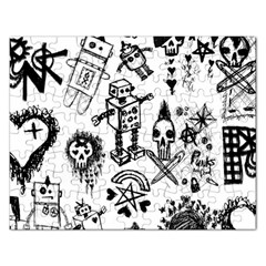 Scene Kid Sketches Jigsaw Puzzle (rectangle)