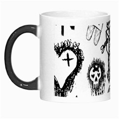Scene Kid Sketches Morph Mug