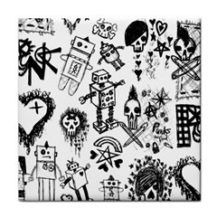 Scene Kid Sketches Face Towel