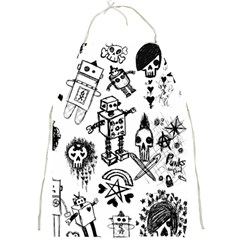 Scene Kid Sketches Apron