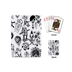 Scene Kid Sketches Playing Cards (mini)