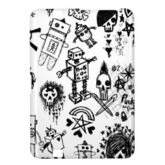 Scene Kid Sketches Kindle Fire Hd 8 9  Hardshell Case