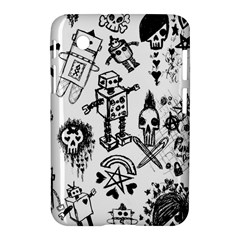 Scene Kid Sketches Samsung Galaxy Tab 2 (7 ) P3100 Hardshell Case