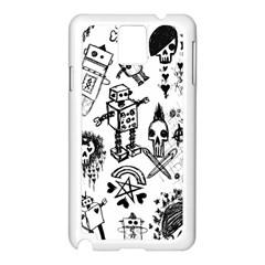 Scene Kid Sketches Samsung Galaxy Note 3 N9005 Case (white)