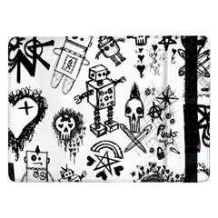 Scene Kid Sketches Samsung Galaxy Tab Pro 12 2  Flip Case