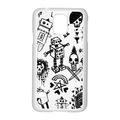 Scene Kid Sketches Samsung Galaxy S5 Case (White)