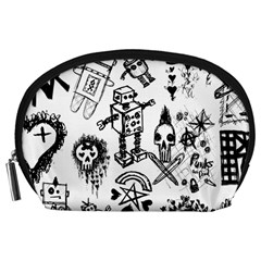 Scene Kid Sketches Accessory Pouch (large)