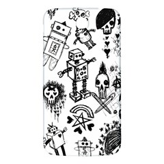 Scene Kid Sketches Samsung Galaxy Mega I9200 Hardshell Back Case