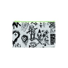Scene Kid Sketches Cosmetic Bag (XS)