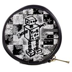 Sketched Robot Mini Makeup Case