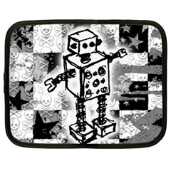 Sketched Robot Netbook Sleeve (xl)