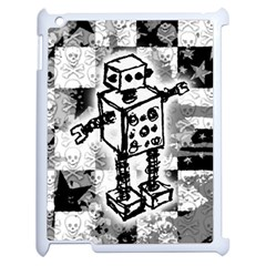 Sketched Robot Apple Ipad 2 Case (white)