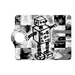 Sketched Robot Kindle Fire Hd (2013) Flip 360 Case