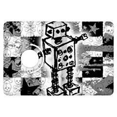Sketched Robot Kindle Fire Hdx Flip 360 Case