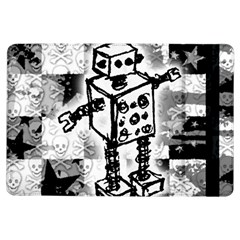 Sketched Robot Apple Ipad Air Flip Case