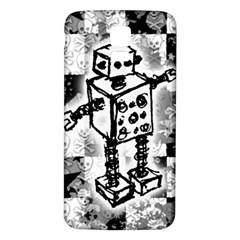 Sketched Robot Samsung Galaxy S5 Back Case (White)