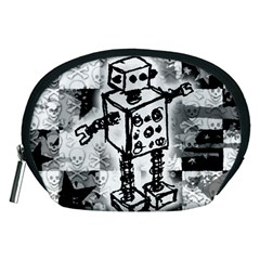 Sketched Robot Accessory Pouch (Medium)