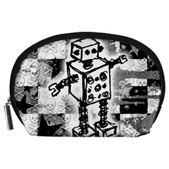 Sketched Robot Accessory Pouch (Large)