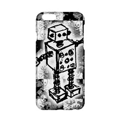 Sketched Robot Apple iPhone 6 Hardshell Case