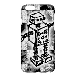 Sketched Robot Apple iPhone 6 Plus Hardshell Case