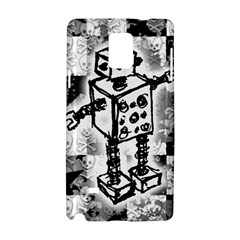 Sketched Robot Samsung Galaxy Note 4 Hardshell Case