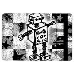 Sketched Robot Apple iPad Air 2 Flip Case