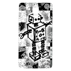 Sketched Robot Samsung Note 4 Hardshell Back Case