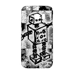 Sketched Robot Samsung Galaxy S6 Edge Hardshell Case