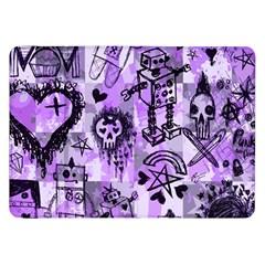 Purple Scene Kid Sketches Samsung Galaxy Tab 8 9  P7300 Flip Case