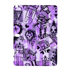 Purple Scene Kid Sketches Samsung Galaxy Note 10.1 (P600) Hardshell Case