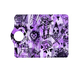 Purple Scene Kid Sketches Kindle Fire HD (2013) Flip 360 Case