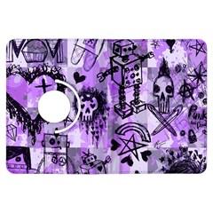 Purple Scene Kid Sketches Kindle Fire HDX Flip 360 Case
