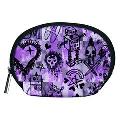 Purple Scene Kid Sketches Accessory Pouch (medium)