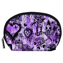 Purple Scene Kid Sketches Accessory Pouch (large)
