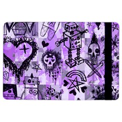 Purple Scene Kid Sketches Apple iPad Air 2 Flip Case