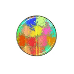 Colorful Paint Spots Hat Clip Ball Marker (10 Pack)