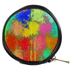 Colorful Paint Spots Mini Makeup Bag