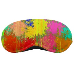 Colorful Paint Spots Sleeping Mask