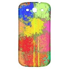 Colorful Paint Spots Samsung Galaxy S3 S Iii Classic Hardshell Back Case